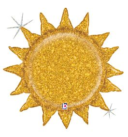 "30"" Gold Glitter Sunshine"