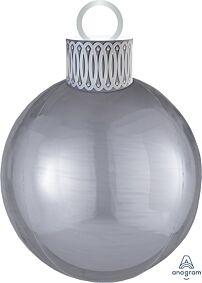 "20"" Ornament Kit Silver Orbz"