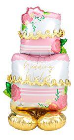 "52"" Wedding Cake AirLoonz"