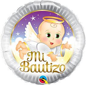 "18"" Mi Bautizo Angel Baby"