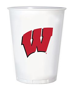 University of Wisconsin - 16 oz Plastic Cup