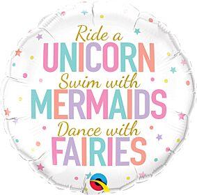 """18"""" Unicorn/Mermaids/Fairies"""