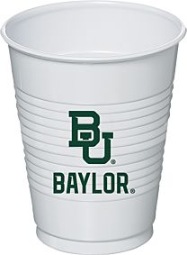Baylor University - 16 oz Plastic Cup 8Ct