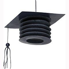 "5.5"" Hanging Grad Cap Decoration"