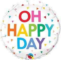 """18"""" Oh Happy Day Confetti"""