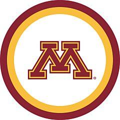 """U Of Minnesota - 7"""" Plate 12 ct"""