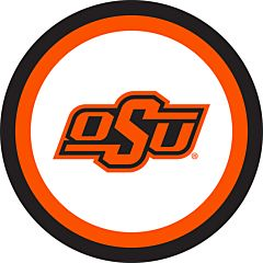 """Oklahoma State - 7"""" Paper Plate 12Ct"""