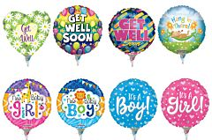 """4"""" Baby /Get Well Airfill Assortment"""