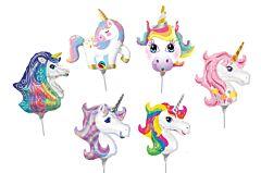 "14"" Unicorn/Rainbow Airfill Assortment"