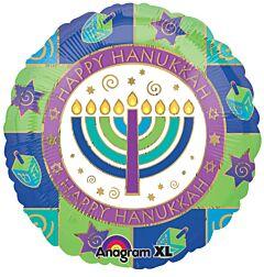 "18"" Happy Hanukkah"