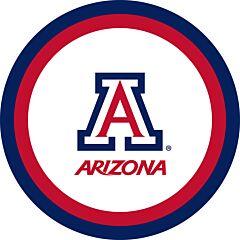 "U Of Arizona - 7"" Paper Plate 12Ct"