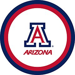 "U Of Arizona - 9"" Paper Plate 10Ct"