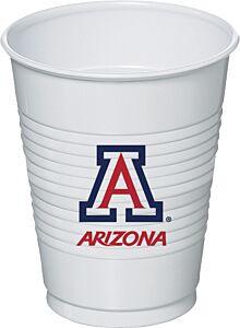 University of Arizona - 16 oz Plastic Cup