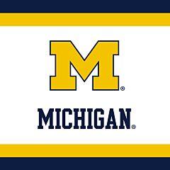 Univ of Michigan - Beverage Napkin 24ct