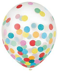 """12"""" Confetti Filled Latex - Multi-Color"""