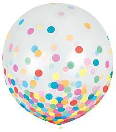 """24"""" Confetti Filled Latex - Multi-Color"""