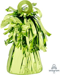 150 Gram Fringed Foil Weight - Lime Green