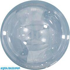 """31"""" Aqua Balloon Clear"""