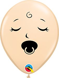 """5"""" Pacifier Baby Face Blush"""
