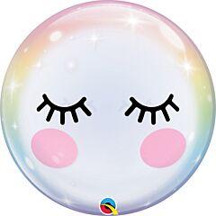 """22"""" Eyelashes Bubble"""
