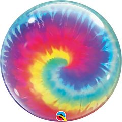 """22"""" Tie Dye Swirls Bubble"""