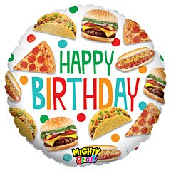"21"" Mighty Food Birthday"