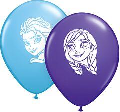 "5"" Anna& Elsa Faces Latex"