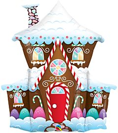 """37"""" Gingerbread House"""