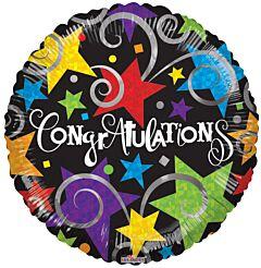 """4"""" Congrats Black"""
