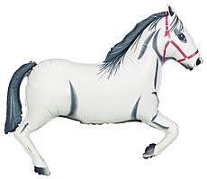 """43"""" White Horse"""