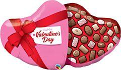 "39"" Valentine Candy Box"