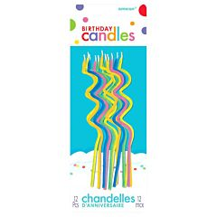 Skinny Coil Birthday Candle