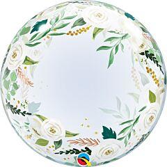 """24"""" Wedding Floral Deco Bubble"""