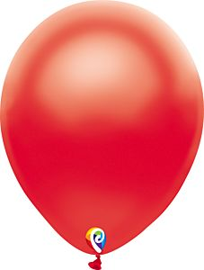 """12"""" Funsational Pearl Red Latex 50ct"""