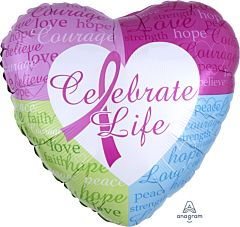 "18"" Celebrate Life"
