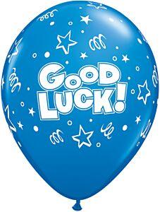 """11"""" Qualatex Good Luck Stars Latex"""