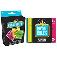 Novelty Card Game - Royal Rules