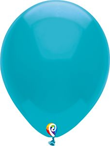 "7"" Funsational Turquoise Latex"