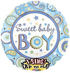 "28"" Sweet Baby Boy Sing a Tune"