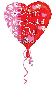"""18"""" Sweetest Day Hearts & Flowers"""