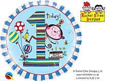 """18"""" Rachel Ellen Monkey Stripes Age 1"""