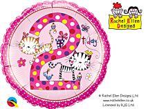 """18"""" Rachel Ellen Kitten Polka Dot Age 2"""