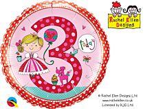 """18"""" Rachel Ellen Princess Polka Dots 3"""