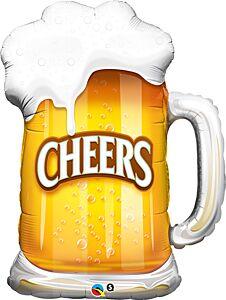 """35"""" Cheers Beer Mug"""