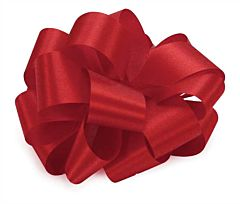 No9 Satin Ribbon - Red