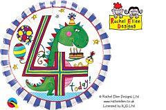 "18"" Rachel Ellen Dinosaur Stripes 4"