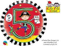 "18"" Rachel Ellen Pirates Stripes 5"