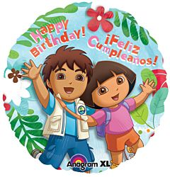 "17"" Dora and Diego Birthday"