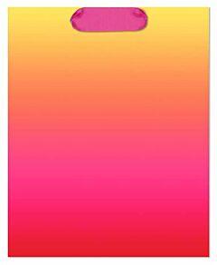 "8X4X9.5"" Ombre Bag - Orange/Pink"