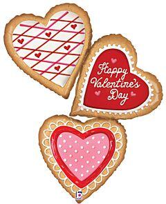 "44"" Valentine Cookies"